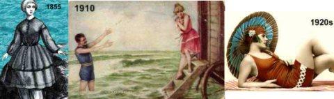 history modest swimwear