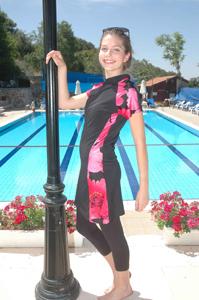 modest swimsuit from Biblical Garden