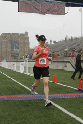 Finishing My First Half Marathon