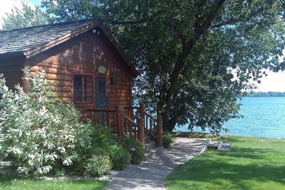 Lake Cabin I Stayed At